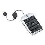 3M Optical Travel with Numeric Keypad 2Button USB Mice