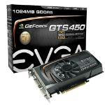 EVGA GeForce GTS 450 Superclocked 1GB Graphics Card