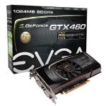 EVGA GeForce GTX 460 1GB SuperClocked Graphics Card
