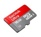 SanDisk Class 10 Ultra 16GB Flash Memory Card