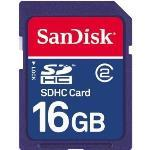 SanDisk Class 2 SDHC 16GB Flash Memory Card