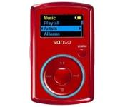 SanDisk Sansa Clip 2GB Red Media Player