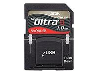SanDisk Ultra II SD Plus 1GB Flash Memory Card