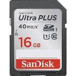 SanDisk Ultra PLUS SDXC 16GB Memory Card