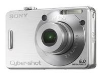 Sony DSC-W50 6MP Digital Camera