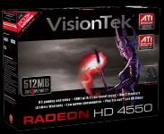 VisionTek Radeon HD 4550 512MB PCIE Graphics Card